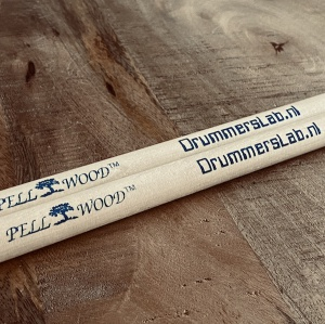 Jeroen Vrolijk van Drummerslab is al jaren een Pellwood gebruiker met eigen logo en design.